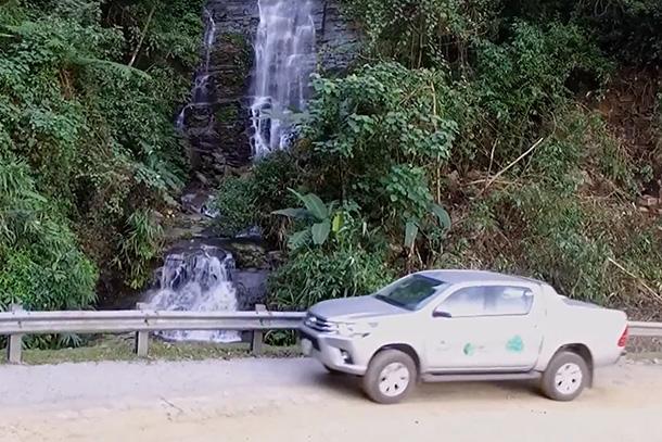 トヨタ・レッドリスト対象種保護のための車両提供プログラム・ベトナム