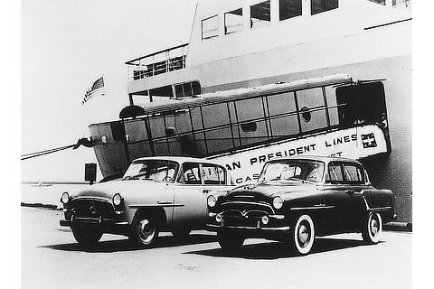 Preliminary Crown vehicle shipment to the U.S. (1957)