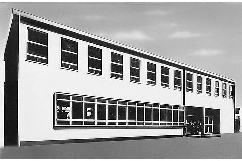 Toyota Motor Sales Co., Ltd. (Honsha office building at time of establishment) (1950)