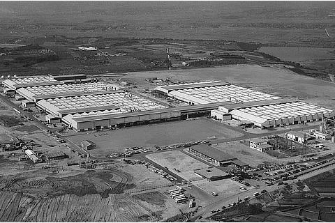 Takaoka Plant (at time of completion) (1966)
