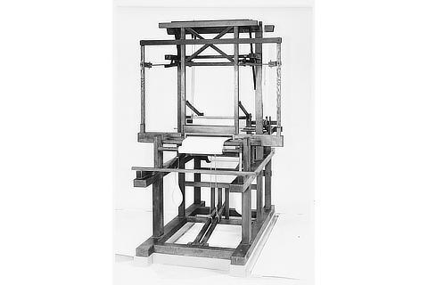 No.04 豊田式木製人力織機(1890年) ID : S-D20042
