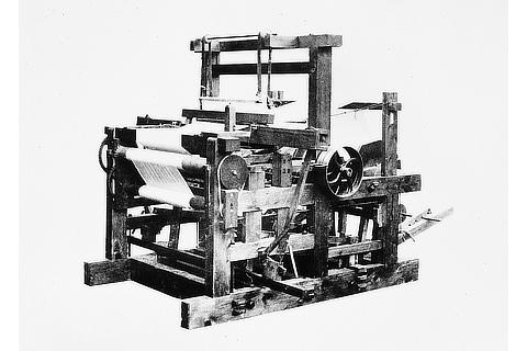 Wood-iron composite power loom (1896)