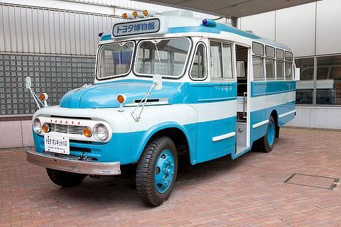 乗車可能な展示車 トヨタ ボンネットバス(1963・日)