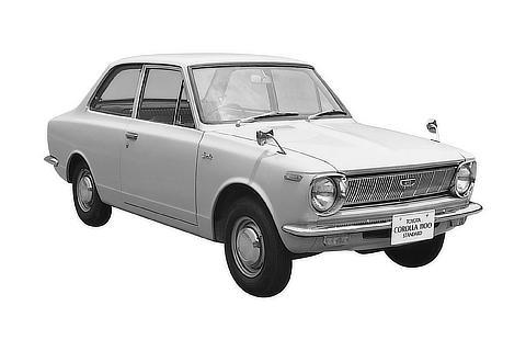 No.01 Corolla SD 1st 1966.11.05 ID : S-460369