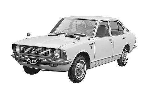 No.02 Corolla SD 2nd 1970.05.06 ID : S-410113