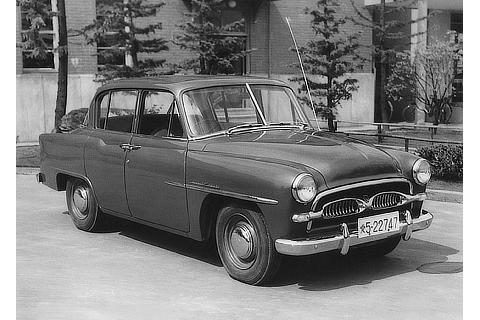 No.01 Toyopet Crown SD 1st 1955.01.05 ID : S-710251