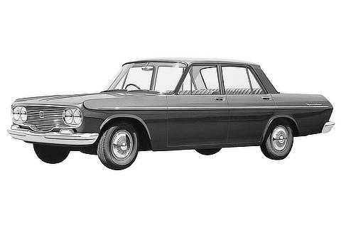 No.02 Toyopet Crown SD 2nd 1962.10.01 ID : S-320087