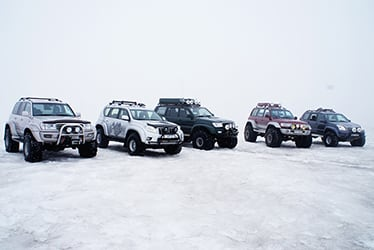 Land Cruiser Series Glaciers in Iceland