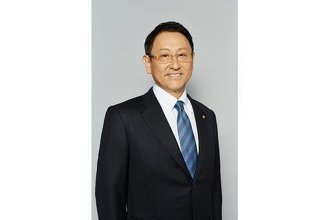 代表取締役社長 豊田 章男