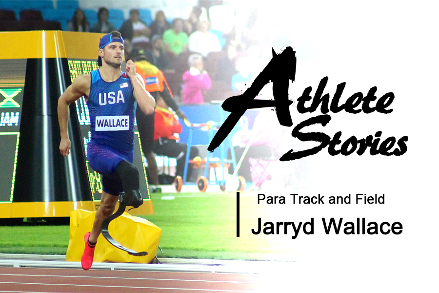 Jarryd Wallace, Para Track and Field