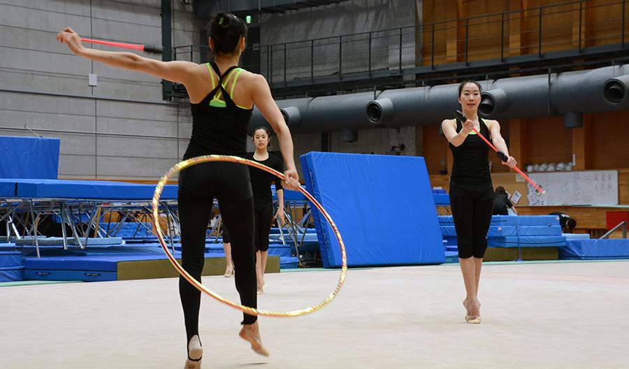 Sayuri Sugimoto, Rhythmic Gymnastics