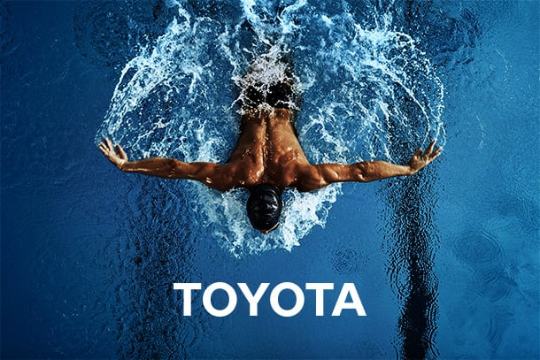 Toyota Olympic, Paralympic and Sports page