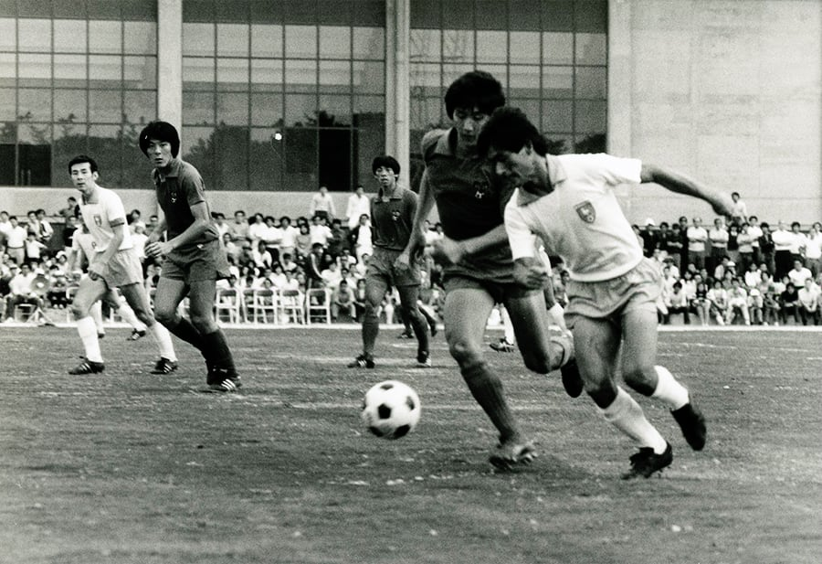 Toyota's company soccer team