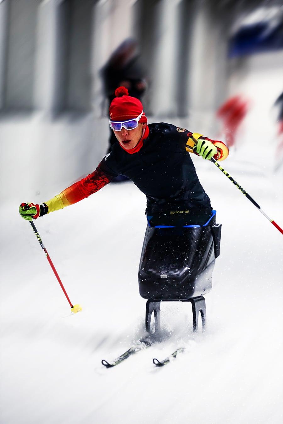 クロスカントリースキー アンドレア・エスカウ選手(ドイツTMG所属)
