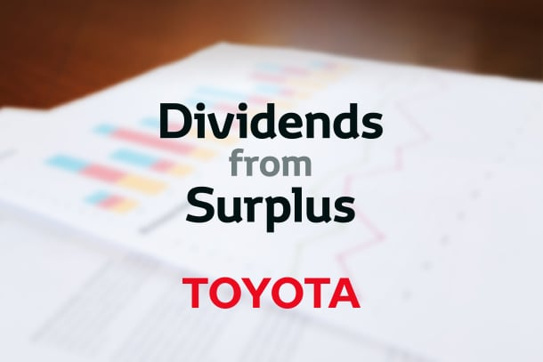 Notice Concerning Distribution of Dividends from Surplus