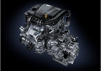NX 200t: Turbo Engine