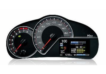 """スピードメーター (1.3L(2WD)車、""""SMART STOPパッケージ""""に標準装備)"""