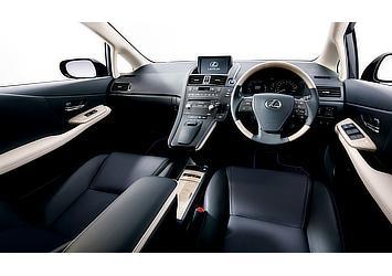 "HS250h 特別仕様車 ""Harmonious Leather lnterior II"" (ブラック&メローホワイト) 〈オプション装着車〉"