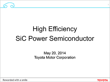 Power semiconductor briefing presentation