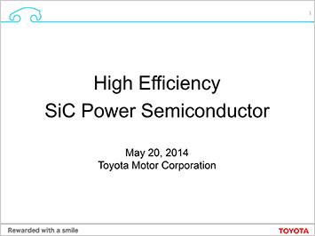 Power semiconductor briefing presentation