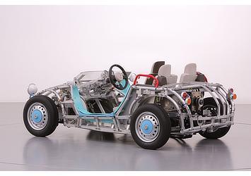 「Tech Lab」展示車両(リア)