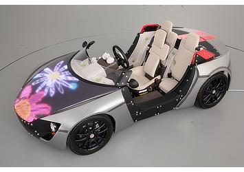 「Design Lab」展示車両(花)
