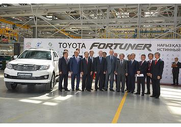 TMKZ Fortuner line-off ceremony attendees