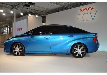 Toyota FCV Sedan (Exterior)