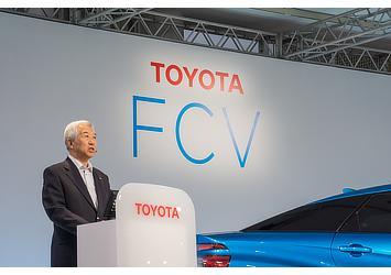 Mitsuhisa Kato, TMC executive vice president (FCV presentation)