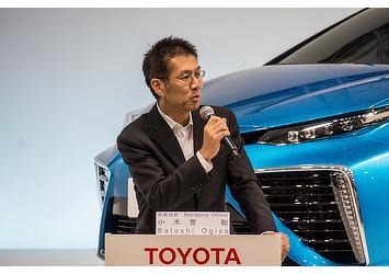 Satoshi Ogiso, TMC managing officer (FCV presentation)