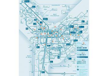 充電ステーション配置図