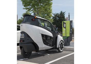 Toyota i-ROAD (Citélib by Ha:mo in Grenoble)