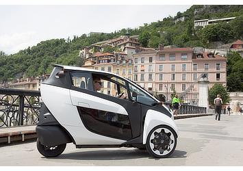 Toyota i-ROAD (Citélib by Ha:mo)