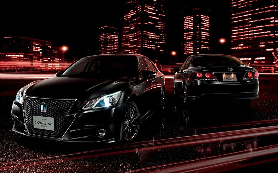"""(左右)クラウン 特別仕様車 Hybrid アスリートS""""Black Style""""<オプション装着車>"""