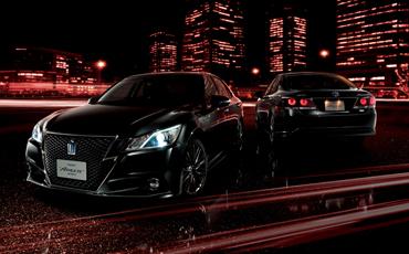 """(左右)クラウン特別仕様車Hybrid アスリートS""""Black Style"""" <オプション装着車>"""
