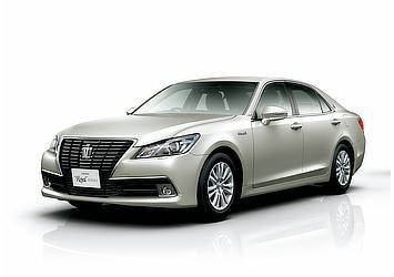Hybrid ロイヤルサルーンG (プレシャスシルバー) 〈オプション装着車〉