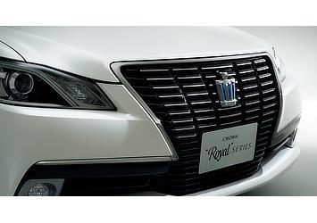 特別仕様車 フロントグリル (ブラック+スモークメッキ枠付)/王冠エンブレム(スモークメッキ)