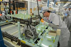 TMCAP CVT assembly line