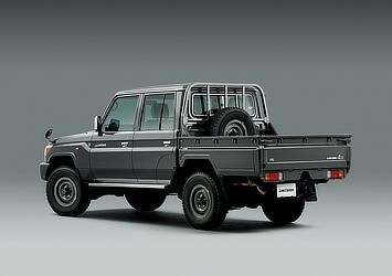 Land Cruiser 70 pickup (Japan commemorative re-release; with options)