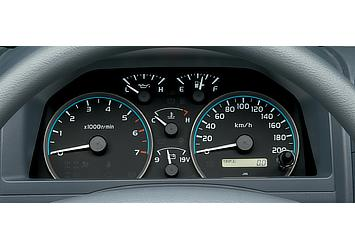 Land Cruiser 70 analog dashboard display (Japan commemorative re-release; with illumination control)