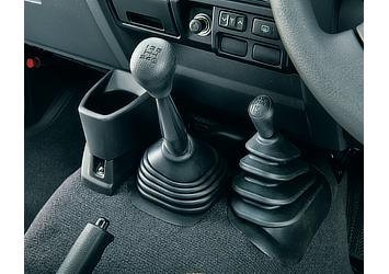 Land Cruiser 70 shift and transfer knobs (Japan commemorative re-release)