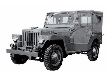 1951 TOYOTA JEEP BJ SERIES