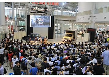 Panel discussion with Land Cruiser enthusiasts