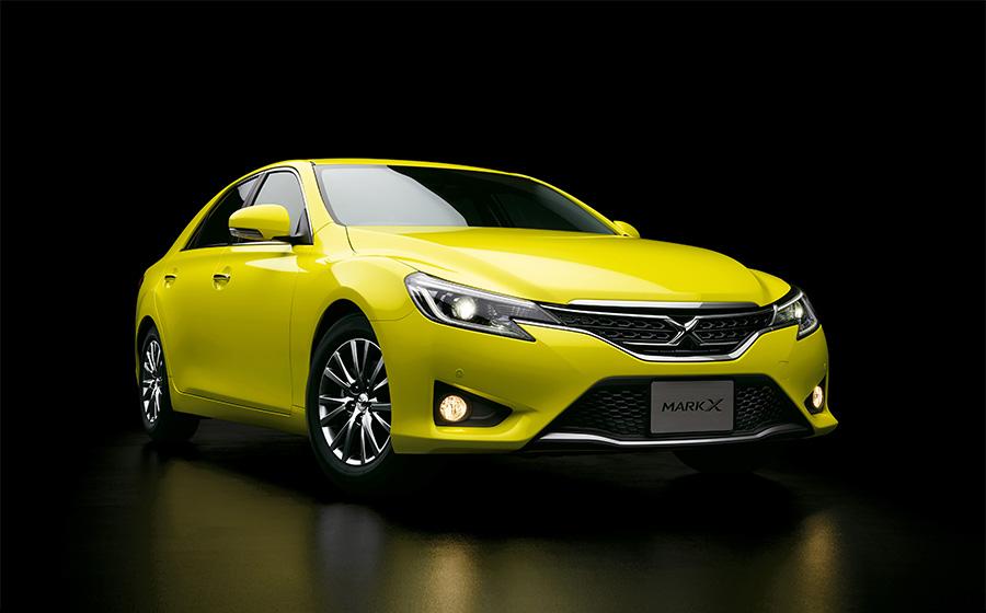 """マークX特別仕様車250G""""Sパッケージ・Yellow Label""""(2WD)<オプション装着車>"""