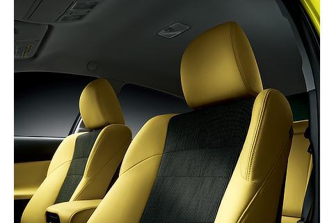 特別仕様車 専用シート表皮(イエロー)