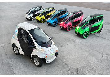 """Toyota i-ROAD and COMS for use in """"Cité lib by Ha:mo"""" EV sharing trial in Grenoble, France"""