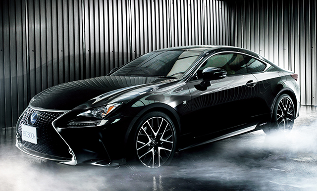 lexus launches all new 39 rc 39 sports coupe in japan toyota global newsroom. Black Bedroom Furniture Sets. Home Design Ideas