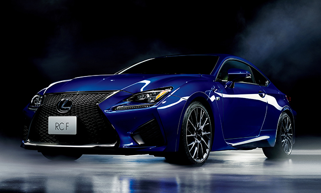 Lexus Launches All New Rc F High Performance Coupe In Japan