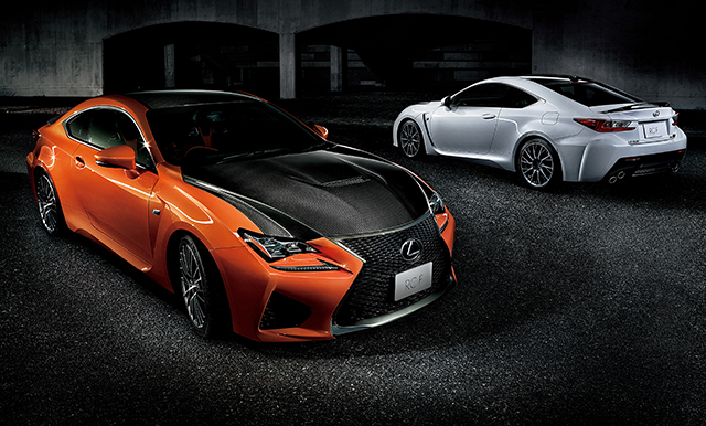 Lexus Launches All New Rc F High Performance Coupe In
