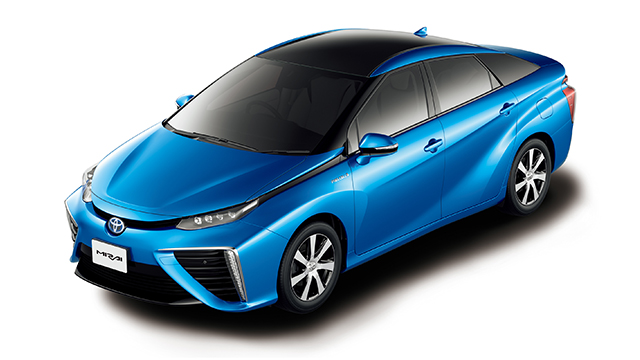 Toyota Ushers In The Future With Launch Of Mirai Fuel